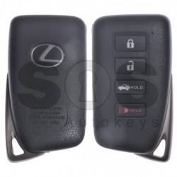 Оригинален смарт ключ за Lexus с 4 бутона 315MHz Keyless Go