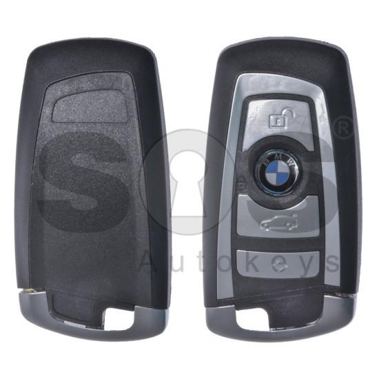 Смарт ключ за коли BMW F-Series с 4 бутона 315MHz HU100 R Keyless Go