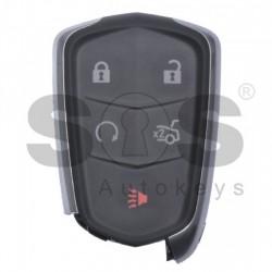 Оригинален смарт ключ за коли Cadillac Proximity с 4+1 бутона 315MHz Keyless Go