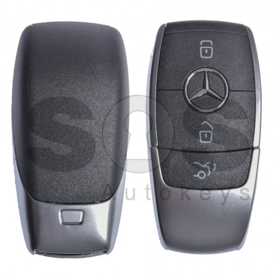 (Пакет) 2x  Смарт ключ за Mercedes-Benz с 3 бутона 434MHz