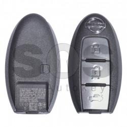 Оригинален смарт ключ за коли Nissan с 3 бутона 434 MHz HITAG3/ ID46/ PCF7952XTT