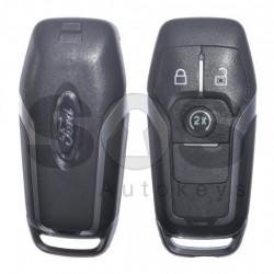 Оригинален смарт ключ за коли Ford с 3 бутона 434 MHz HITAG Pro HU101 Keyless Go