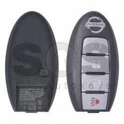 Оригинален смарт ключ за коли Nissan Pathfinder 2014 с 4 бутона 434 MHz