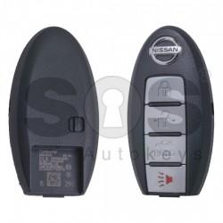 Оригинален смарт ключ за коли Nissan Maxima с 3+1 бутона 315MHz
