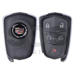 Оригинален ключ за кола Cadillac ATS 2015 4+1 бутона 433 MHz Keyless Go