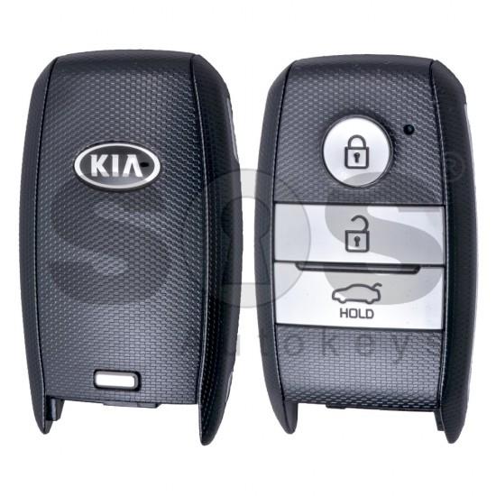 Оригинален ключ за Kia Cherato 3 бутона 434MHz Keyless Go