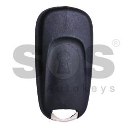 Оригинален сгъваем ключ за Vauxhall с 2 бутона