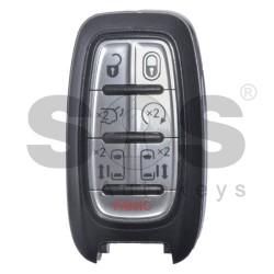 Оригинален смарт ключ за Chrysler 6+1 бутона 434MHz - отключен