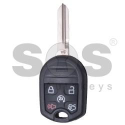 Сандартен ключ за коли Ford Mustang с 4+1 бутона - 315 MHz