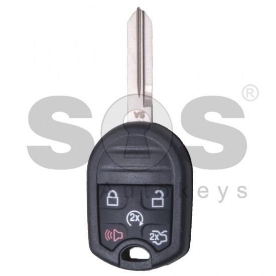 Сандартен ключ за коли Ford Mustang с 4+1 бутона - 433 MHz