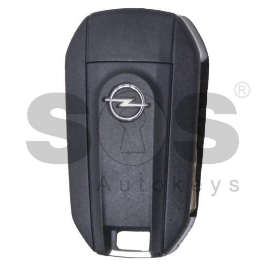 Оригинален сгъваем ключ за Opel с 3 бутона 433 MHz