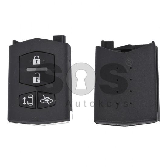 Оригинален ключ за коли Mazda 6 с 4 бутона 434 MHz