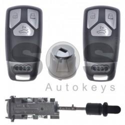 Оригинален комплект за Audi E-Tron с 3 бутона 433MHz HU162T