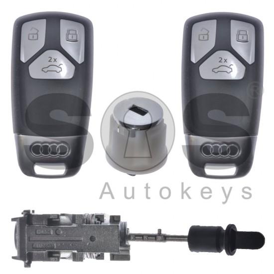 Kомплект за Audi E-Tron с 3 бутона 433MHz HU162T