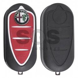 Кутийка за ключ (флип) за Alfa Romeo Mito / Giulietta с 3 бутона - SIP 22