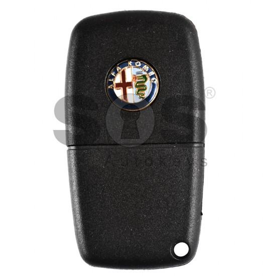Kутийка за ключ (сгъваем) за Fiat / Lancia / Alfa Romeo с 2 бутона - SIP22