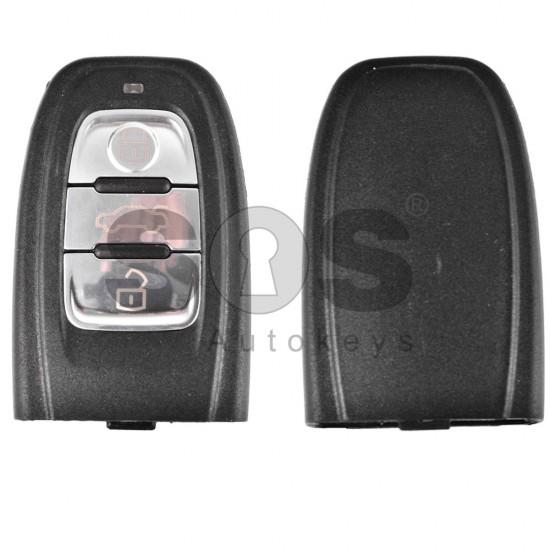 Кутийка за ключ (смарт) за Audi с 3 бутона - HU 66