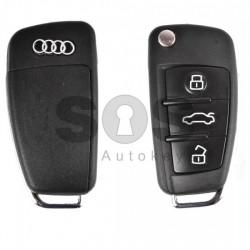 Кутийка за ключ с Audi A4 A6 A8 с 3 бутона - HU 66