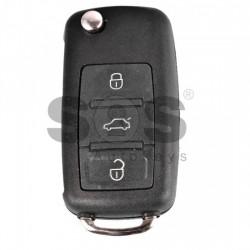 Кутийка за ключ за Audi A8 с 3 бутона - HU 66