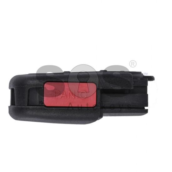 Кутийка за ключ (сгъваем) за VAG с 3+1 бутона - HU66 - долна част - 50W1J0959753F