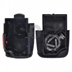Кутийка за ключ (сгъваем) за VAG с 3+1 бутона - HU66 - долна част