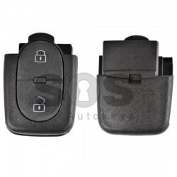 Кутийка за ключ (сгъваем) за VAG с 2 бутона - HU66 - долна част