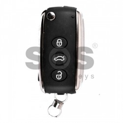 Кутийка за ключ (сгъваем) за Bentley с 3 бутона - HU66
