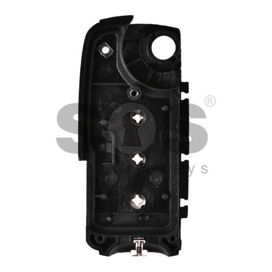 Оригинална кутийка за ключ (сгъваем) за Bentley с 3 бутона - HU66