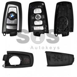 Празна смарт кутийка за ключ за BMW F серия с 4 бутона