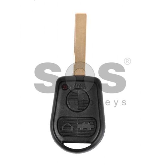 Кутийка за ключ (стандартен) за BMW Е-серия с 3 бутона - HU92