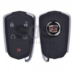 Кутийка за ключ (смарт) за Cadillac с 5 бутона - овална