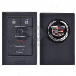 Кутийка за ключ (смарт) за Cadillac с 5 бутона - Model 2