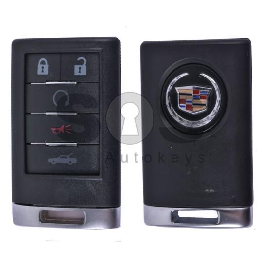Кутийка за ключ (смарт) за Cadillac с 5 бутона - Model 1