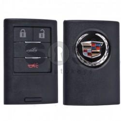 Kутийка за ключ (смарт) за Cadillac с 4 бутона - Мodel 1