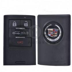 Кутийка за ключ (смарт) за Cadillac с 4 бутона - Мodel 2