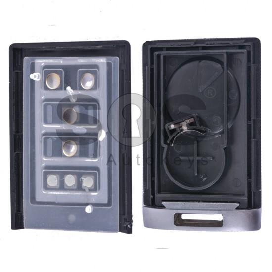 Кутийка за ключ (смарт) за Cadillac с 4 бутона