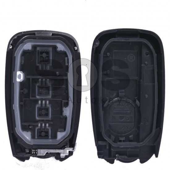 Кутийка за ключ (смарт) за Chevrolet Camaro с 3+1 бутона