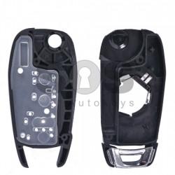 Кутийка за ключ (сгъваем) за Chevrolet с 3 бутона - HU100 - Нов Модел