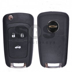 Кутийка за ключ (сгъваем) за Chevrolet Epica с 3 бутона