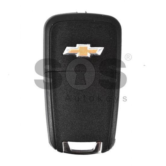 Kутийка за ключ (сгъваем) за Chevrolet с 4+1 бутона - HU100