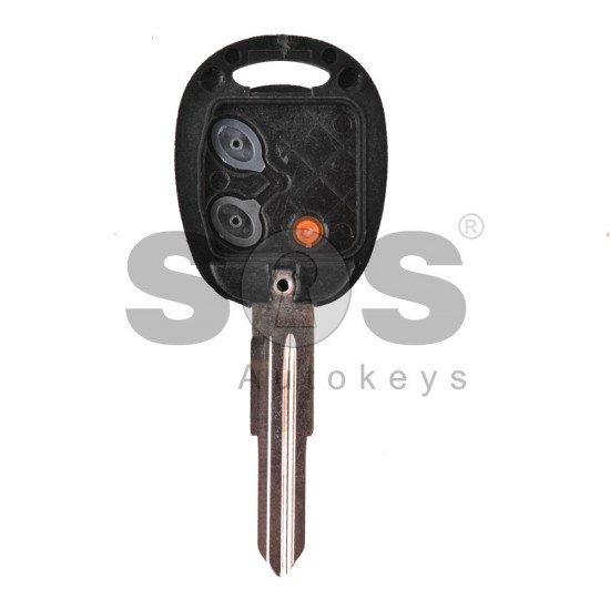 Кутийка за ключ (стандартен) за Chevrolet с 2 бутона - DW04R - Model 1