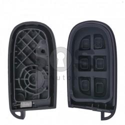 Кутийка за ключ (смарт) за Chrysler / Dodge / Jeep / Fiat с 4+1 бутона - SIP22 / CY24