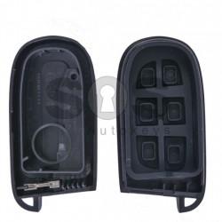 Кутийка за ключ (смарт) за Chrysler / Dodge / Jeep / Fiat с 3+1 бутона - SIP22 / CY24