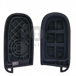 Кутийка за ключ (смарт) за Chrysler / Dodge / Jeep / Fiat с 2+1 бутона - SIP22 / CY24