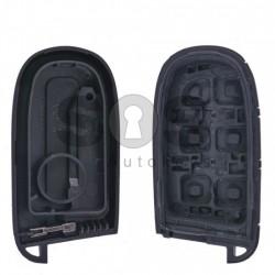 Кутийка за ключ (смарт) за Chrysler / Dodge / Jeep / Fiat с 2 бутона - SIP22 / CY24