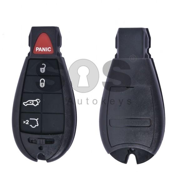 Кутийка за ключ (смарт) за Chrysler с 4+1 бутона - CY24 - Рибка