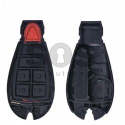 Кутийка за ключ (смарт) за Chrysler с 4+1 бутона - CY24 - (Рибка)