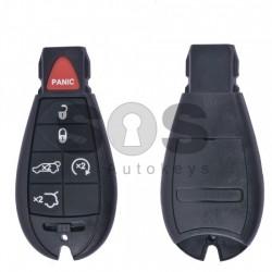 Кутийка за ключ (смарт) за Chrysler с 5+1 бутона - CY24 - Рибка