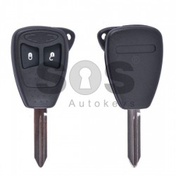 Кутийка за ключ (стандартен) за Chrysler / Dodge / Jeep с 2 бутона - CY24