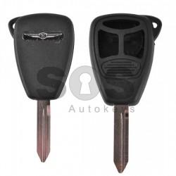 Кутийка за ключ (стандартен) за Chrysler / Dodge / Jeep с 2+1 бутона -CY24 - Model 1